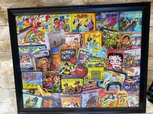 Puzzle Framed Art - Vintage - Lunch Boxes