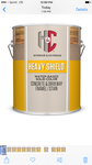 2 gallons of H&C Heavy shield concrete in driveway enamel stain base retails for $50 a gallon