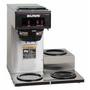 BUNN 12-Cup Pour over Coffee Brewer, 1, Stainless Steel
