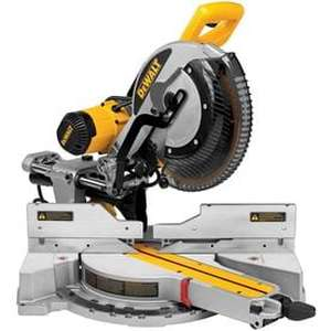 DEWALT 12-in 15-Amp Dual Bevel Sliding Compound Miter Saw Retail: $599.00