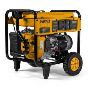 DEWALT 8,000-Watt Gasoline Powered Electric Start Portable Generator with Idle Control, GFCI Outlets and CO Protect Retail: $1,169.00