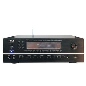 Pyle Wireless BT Streaming Home Theater Receiver-7.1 Ch Surround Sound Stereo Amplifier System