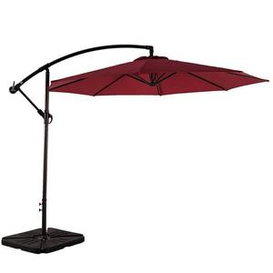 Weller 10ft Offset Canopy Umbrella- Retail:$242.49