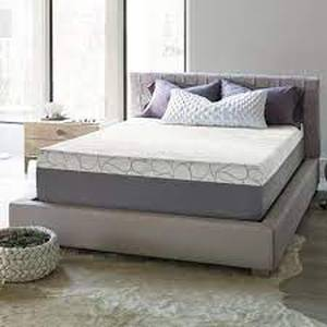 Beautyrest 14in gel memory foam mattress compression type cal king