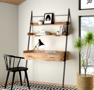 Jenna Solid Wood Leaning/Ladder Desk. $529.99 Retail