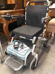 Air Hawk Electric Wheelchair Works