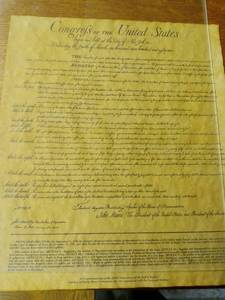 200th Anniversary Commemorative Story and Copy of the Bill of Rights