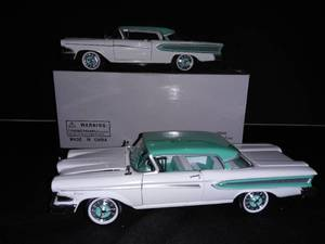1:32 Scale Model Toy 1958 Ford Edsel Citation Set of 2