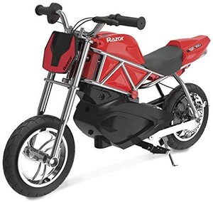 Razor RSF350 Electric Street Bike - Black, Red - No Charger
