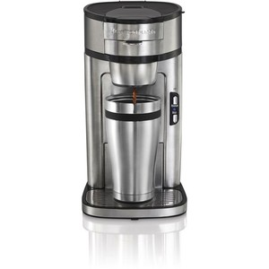 Hamilton Beach - Single Serve Coffee Maker - Stainless