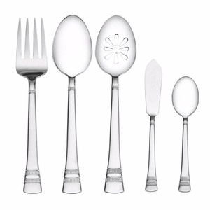 Pfaltzgraff Sapphire Bay 53-Piece Flatware Set, Service for 8