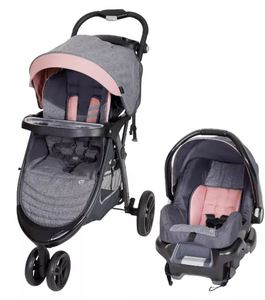 Baby Trend Skyline 35 Travel System- Starlight Pink- Retail:$170.99