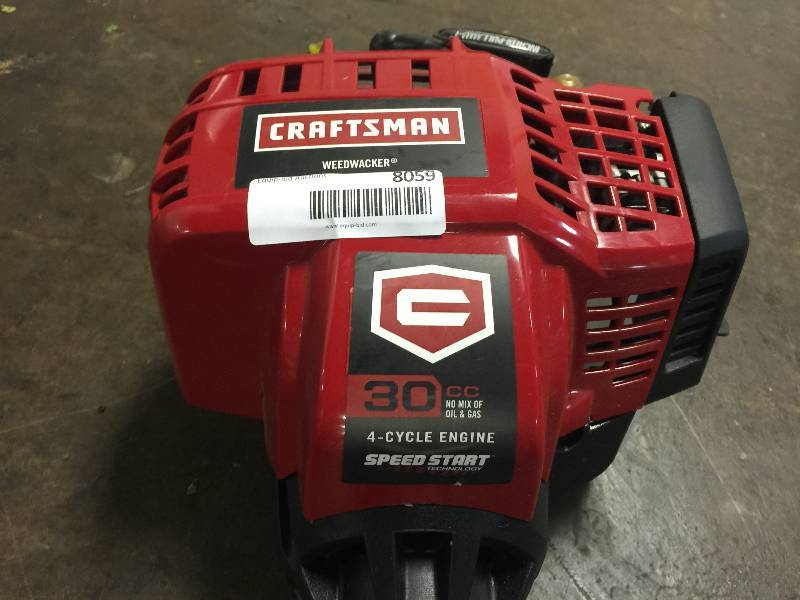 Craftsman 25cc 2-Cycle Straight Shaft WeedWacker Gas Trimmer