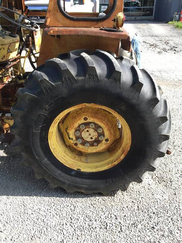 Ford 3550 Tractor : Ford tractor model k f front