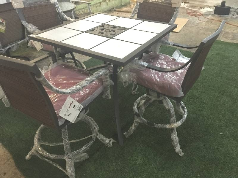 Ty Pennington Style Palmetto 5 Piece Patio High Dining Set | SOUTH  KC/Grandview  OUTDOOR DEALS!!! | Equip Bid