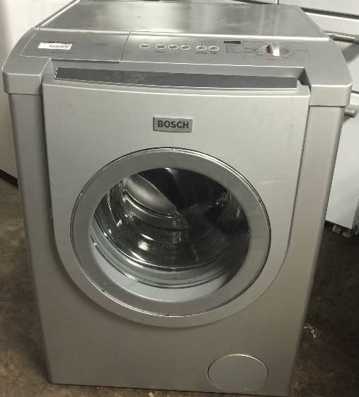 Bosch Net 500 Series Washer Silver Finish Wfmc330suc Household Deals Auction Equip Bid