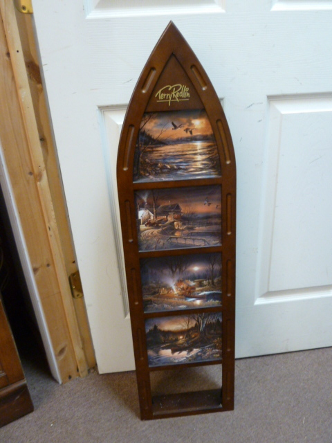 TERRY REDLIN BOAT PLATE DISPLAY...MISSING ONE PLATE | FURNITURE, ANTIQUES,  COLLECTIBLES, ETC...JULY SALE | Equip Bid
