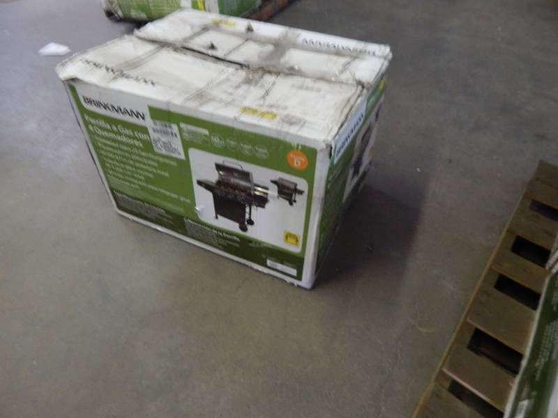 Superb Brinkmann Outdoor LP Gas Barbecue Grill New Old Stock # Brinkmann Backyard  Kitchen Gas Grill With Sink