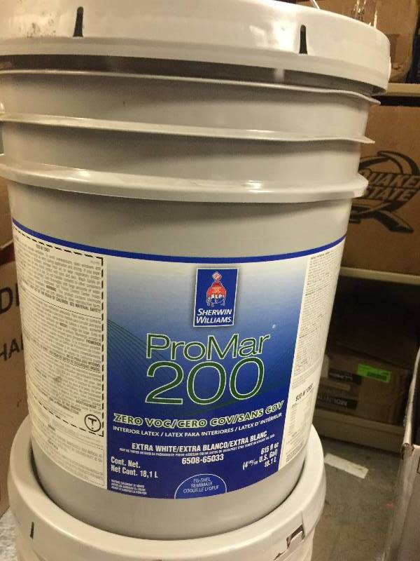 Sherwin Williams Pro Mar 200 Extra White Tools Spray Paint Electrical Outlets Office Supply And Much More Equip Bid