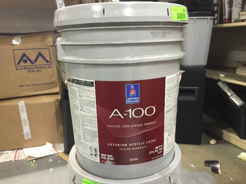 sherwin williams a 100 paint huge july auction sale