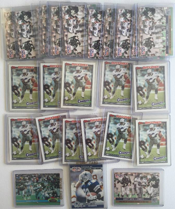Emmitt Smith Rookie Card Lot 23 Emmitt Smith Rookie Cards