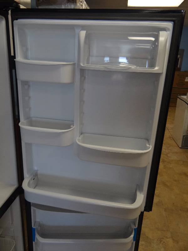 Brand New Amana Black Bottom Freezer Refrigerator The