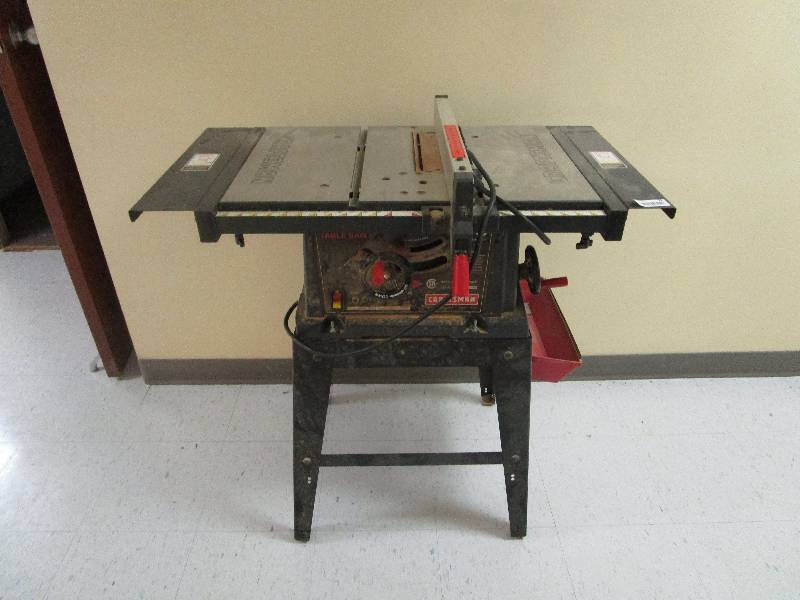 Craftsman Table Saw Tool Sale Historic Broadway Church By Fleetsale Equip Bid