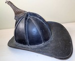1940's Leather Fire Helmet Cairns & Brothers