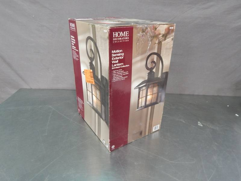 Home Decorators Collection Motion Sensing Exterior Lantern Large Lighting Auction Led