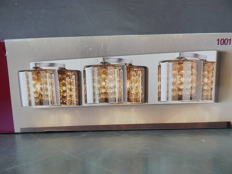 Home Decorators Vanities: Home Decorators 4 Light Led Vanity Fixture