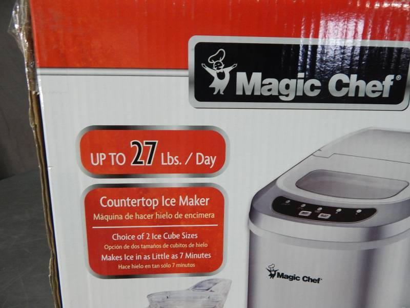 Magic Chef Countertop Ice Maker Problems : Magic Chef Countertop Ice Maker Portable A/C Fans LED Lighting And ...