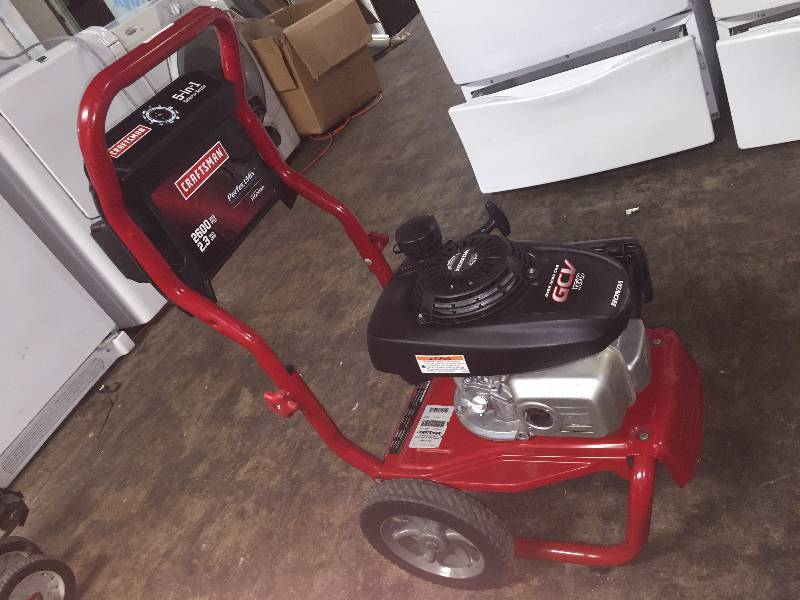Craftsman Pressure Washer 2600 Psi 2 3 Gpm Honda Powered