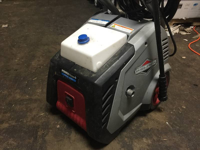 briggs and stratton 1800 psi electric pressure washer manual