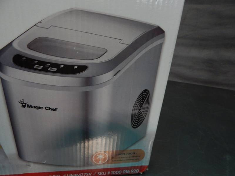 Magic Chef Countertop Ice Maker Directions : Magic Chef Countertop Ice Maker Portable A/C Fans LED Lighting And ...
