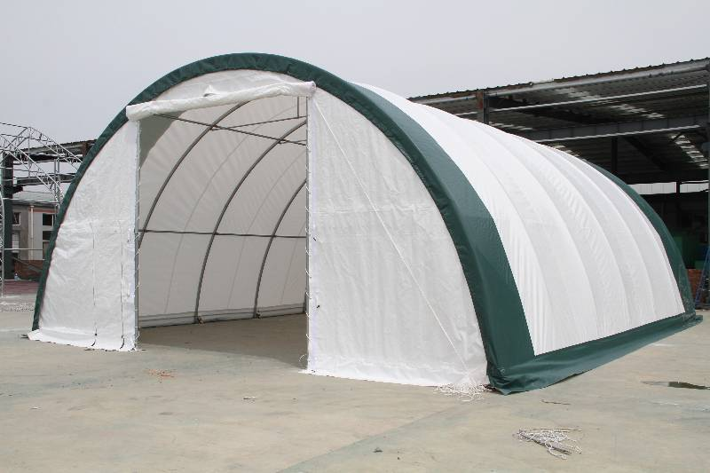 Fabric Panels To Cover Storage Area : New dome storage building s r fabric