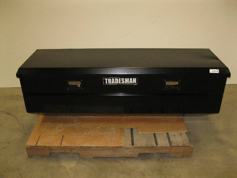 Tradesman 60 Quot Truck Tool Box Black Steel Flush Mount