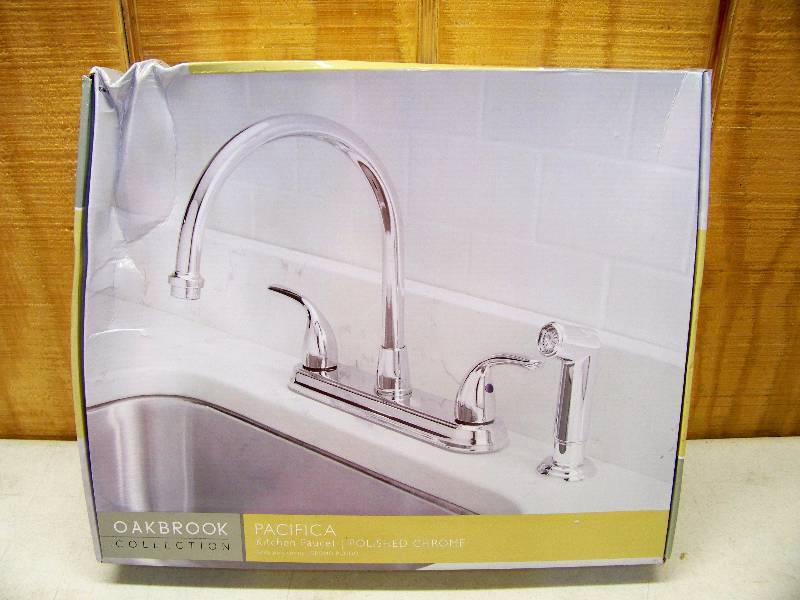 Oakbrook Collection Kitchen Faucet.Oakbrook Collection Pacifica ...
