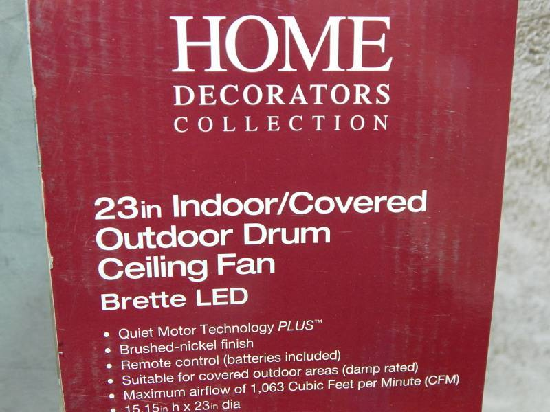 home decorators collection brette led 23 indoor covered
