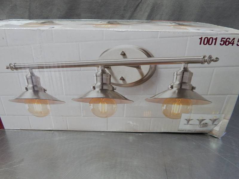 Home Decorators Collection 3 Light Vanity Fixture Factory Sealed Items For Everyone Tools