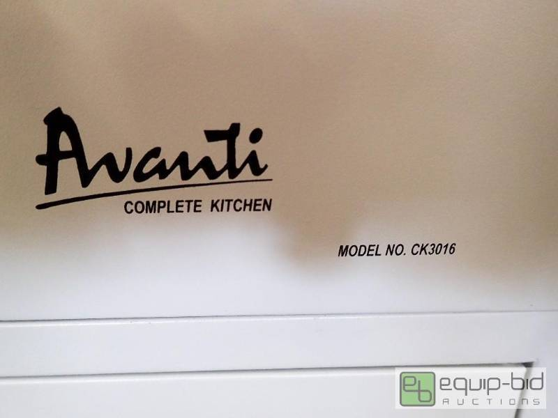 Avanti Ck3016 30 Quot Complete Compact Kitchen With 2 2 Cu Ft