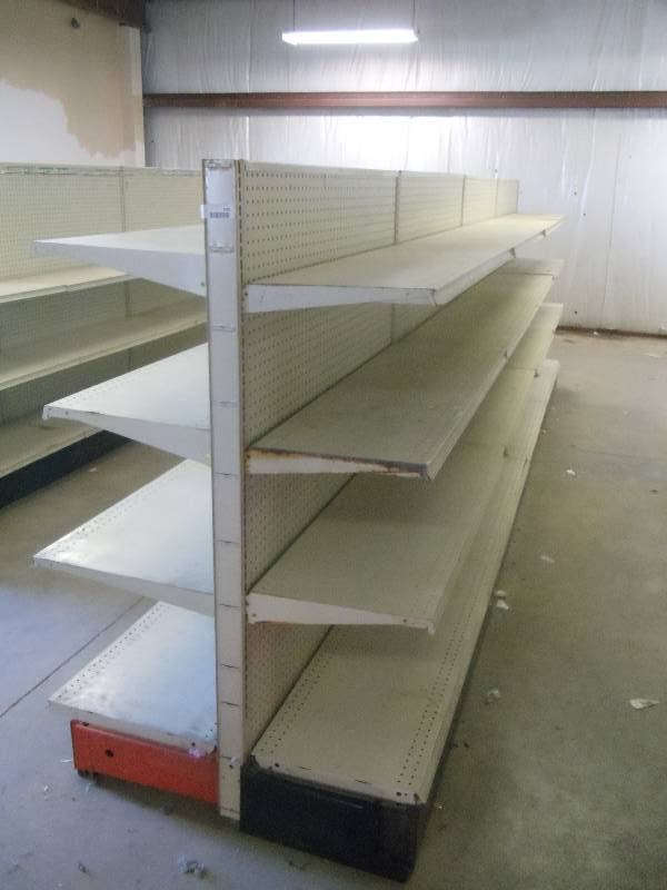 Lozier store shelving. | Complete Store Liquidation ...