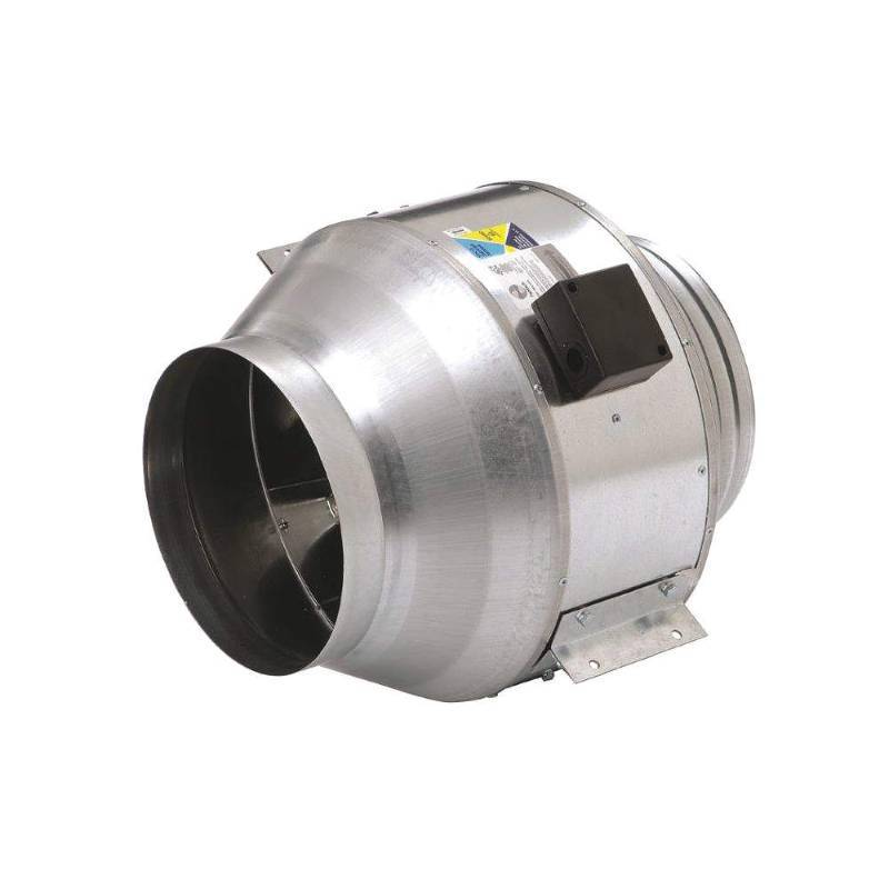 Centrifugal Duct Fan : Steel inline centrifugal duct fan fits dia