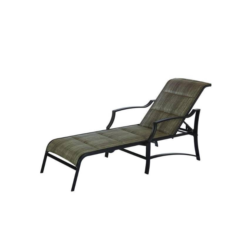 Hampton Bay Statesville Padded Chaise Lounge Factory