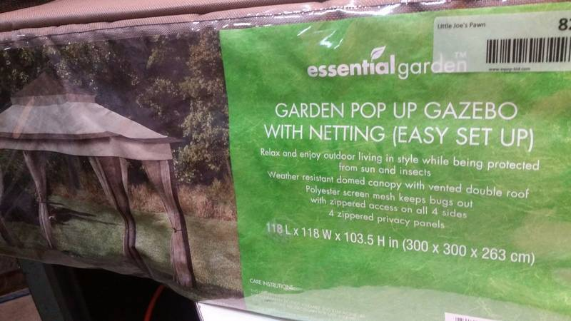 Essential Garden Gazebo Little Joes Halfway to halloween Sale