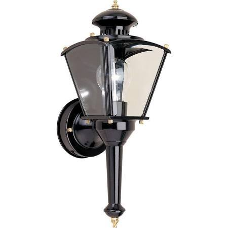 Wall Mounted Inspection Lamp : Hampton Bay Wall Mounted 220-Degree Outdoor Motion-Sensing Wall Lamp Home Improvement ...