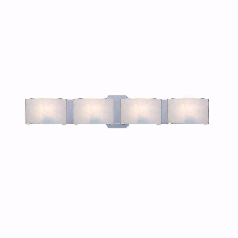 hampton bay dakota 4 light satin nickel bath bar light home