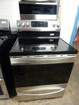 KENMORE ELITE GLASS TOP STAINLESS STEEL STOVE - NEW