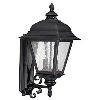 Capital Lighting 9962bk Gu Outdoor Fixture With Frosted