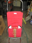 Red 2 wheel carts