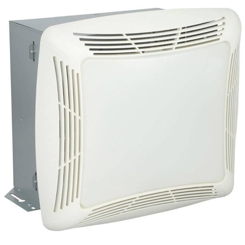 Nutone 70 Cfm Ceiling Exhaust Bath Fan W Night Light And: 70 CFM Ceiling Exhaust Fan With Light, White Grille And